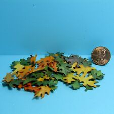 Dollhouse Miniature Autumn Fall Leaves for Inside or Outside Decor SH460
