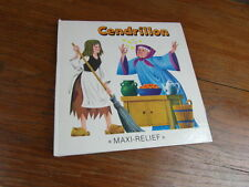 ENFANTINA LIVRE A SYSTEME POP-UP BOOK / CENDRILLON CINDERELLA MAXI RELIEF 1990