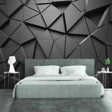 Abstract Gray Triangles Background Wallpaper 3d Photo Geometric