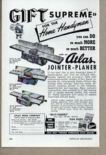 1953 Print Ad Atlas Press Jointer-Planers Kalamazoo,MI
