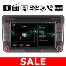 "7"" VW Passat Golf Transporter T5 Car Stereo DVD DAB+ Radio BT GPS Sat Nav CD SWC"