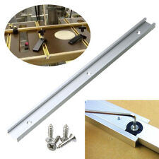 400mm T-track T-slot Router Table Saw Aluminum Slot Woodworking With Screw