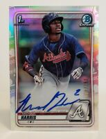 2020 Bowman Chrome Michael Harris Refractor Auto /499 Atlanta Braves CPA-MH
