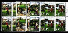 NEW ZEALAND - NUOVA ZELANDA - 1995 - Campi da golf in Nuova Zelanda