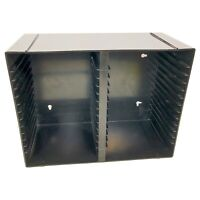 Case Logic 30 CD Case Black Wall Mountable Storage Holder Media Rack