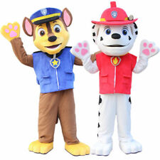 ONE ADULT SIZE CHASE OR MARSHALL OR SKYE DOG MASCOT COSTUME FANCY PARTY DRESS