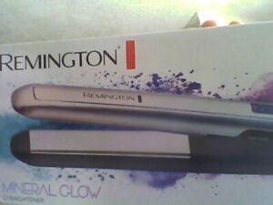 Remington Hair Straightener Fast Heat-up Auto Shut Off  Mineral Glow S5408-new