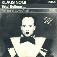 """7"""" Klaus Nomi – Total Eclipse / Falling In Love Again // Germany 1981"""