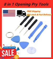 8 piece Iphone Repair Pry Tools for 3G 3Gs 4 4S 5 with 5 Point Star Pentalobe Hu