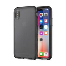 tech21 EVO Check Impact Case Cover for Apple iPhone X Smokey Black Fast Post
