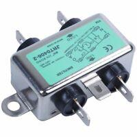 Solder Lug Terminal 6A 115/250VAC Power Line EMI Filter E3V2