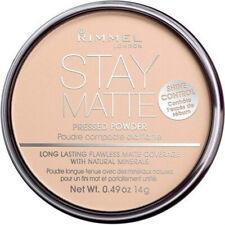 RIMMEL - Stay Matte Pressed Powder #011 Creamy Natural - 0.49 oz. (14 g)