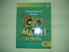 Go Math! Florida Assessment Guide Grade 1 @2015