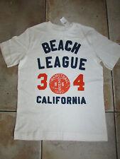 NEW Boys GAP Beach League California Basketball Champs Tigers T-Shirt 8-9 yrs