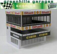 Greenhills Scalextric Slot Car Building Goodwood Control Tower Kit 1 32