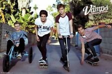The Vamps ~ Alley 22x34 Music Poster Brad Simpson James McVey Connor Ball Evans
