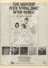 Who The By Numbers Belle Vue, Manchester MM5 LP/Tour Advert 1975