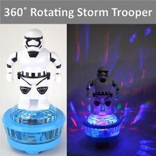 "10"" Star Wars Storm Trooper 360° Rotating Figure Flashing Lights Music Xmas Gift"