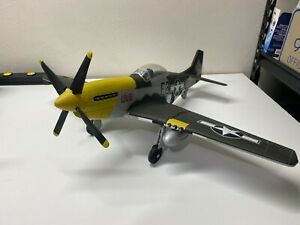 """1/18 Scale North American P-51D Mustang """"Lou IV"""" with Pilot 21st Century Toys"""