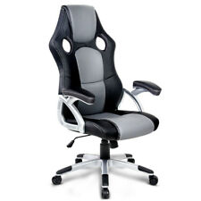 REDUCED $75 NOW ! 2 x PU Leather Racing Office Chair Executive Computer Home