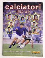 Album Figurine Panini Calciatori 1987 / 1988 Completo - Campionato Italiano