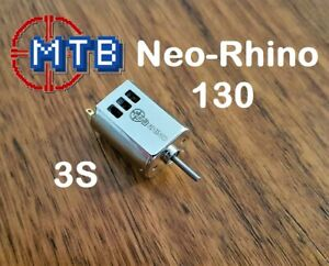 Neo Rhino MTB 3s 12V 130 for Nerf Blaster Motor Rapidstrike, Stryfe