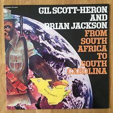 Gil Scott-Heron & Brian Jackson - From South A.. (Vinyl  - TVT 1998)