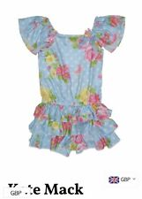 Bargain Designer Sale KATE MACK Vintage Trim Playsuit Age 8 £74.99