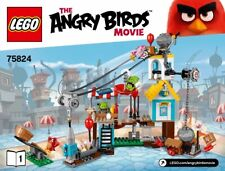 LEGO 75824 The Angry Birds PIG CITY TEARDOWN 386 PCZ Retired new sealed
