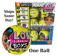 1 Authentic LOL Surprise BOYS Doll Series 3 Big Brother Yellow Ball In Hand NEW