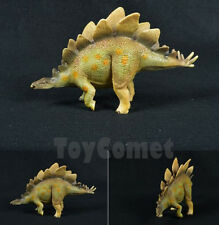17cm Realistic Stegosaurus Dinosaur Animal Figure Solid Plastic Toy Model