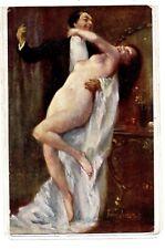 GHEDUZZI Orgia Orgie Nudo Nude Girl PC Circa 1910