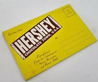 Ephemera HERSEY CHOCOLATE TOWN USA 13 Prints Color Photos Original Sleeve