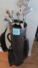 (251) MRH  8 USA  IRONS  3  TRU SPEC WOODS PUTTER BAG $80.00 FREE SHIPPING