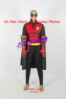 Red Robin Cosplay Costume from batman cosplay include eye mask prop