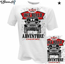 T-Shirt Geländewagen Jeep Wrangler Willys Cross Offroad USA Chevrolet Military