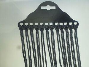 12 X Brillenband Brillenkordel Schwarz Sportband Nylon