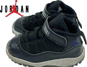 Nike Air Jordan Rétro 11 Noir Rouge Space Jam Travaille 6c Bébé
