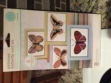 Martha Stewart Create Greeting Card Craft Kit Glitter Butterfly Card Kit NEW