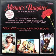 Vladimir Cosma's MISTRAL'S DAUGHTER TV soundtrack LP Lee Remick Stephanie Powers