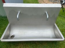 More details for commercial stainless steel sink unit