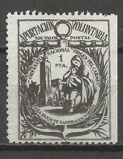 7082-SELLO FISCAL ORFANATO HIJOS DE NAUFRAGOS POBRES ,VIRGEN DELCARMEN.AÑO 1930/