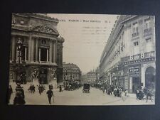 Théme COFFRES FORTS banque Paris CPA 75 rue Halevy Magasin FICHET