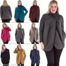Cappotti e giacche da donna casual taglia unici lana