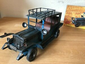 Oldtimer Modell Blech ++ 38 cm lang ++ Vintage ++ sehr dekorativ ++ neuwertig