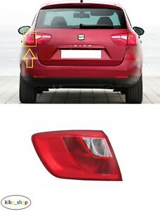 SEAT IBIZA ST 6J 2010 - 2012 NEW REAR OUTER TAIL LIGHT LAMP LEFT N/S LHD