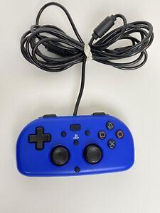 Blue Hori PS4-100U PlayStation 4 Wired Gamepad Controller Mini