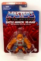 """Masters Of The Universe BATTLE ARMOR HE-MAN 2"""" Eternia MINIS Action Figure"""