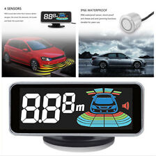 Car Parking Moniter wth 360° Rotatable Head Reverse Radar Buzzer Alarm System