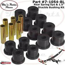 "Prothane 7-1054-BL Rear Spring Eye&Shackle Bushings 1-1/2"" OD-Chevy/GMC Pickup"